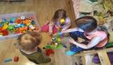 z dziećmi w domu