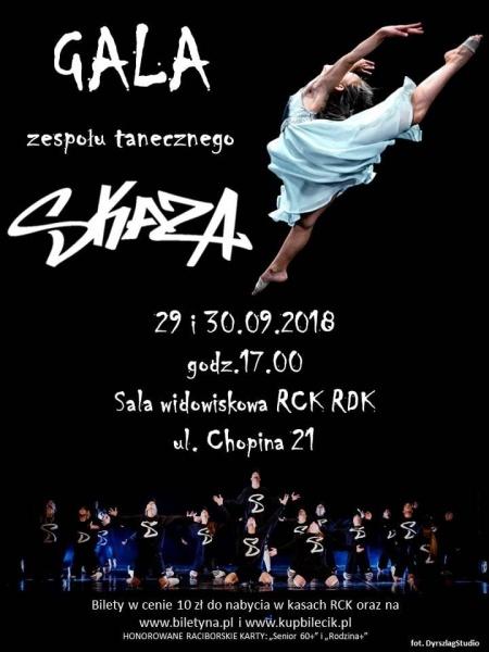 Gala SKAZY plakat 2018