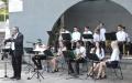 Koncert Młodzieżowej Orkiestry RCK w Parku im. miasta Roth
