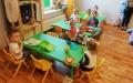 Nowe wyposażenie sali dla najmłodszych w Strzesze