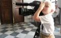 """Młodzi aktorzy na planie filmu """"Kinderlager Pogrzebin"""""""