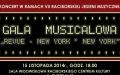 """GALA  MUSICALOWA """"REVUE - NEW YORK * NEW YORK"""""""