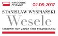 NARODOWE CZYTANIE - WESELE Stanisława Wyspiańskiego w ramach POŻEGNANIA LATA