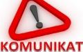UWAGA - kasy RCK nieczynne w dn. 6 -20.08