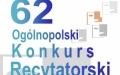 62. Ogólnopolski Konkurs Recytatorski - eliminacje rejonowe