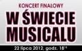 """Koncert powarsztatowy """"W ŚWIECIE MUSICALU"""""""