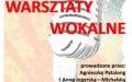 Warsztaty z RCK - Warsztaty wokalne