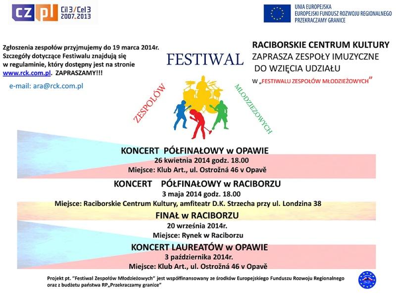 """""""Festiwal Zespołów Młodzieżowych"""""""