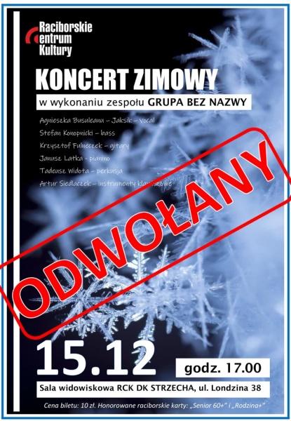 Odwołany koncert