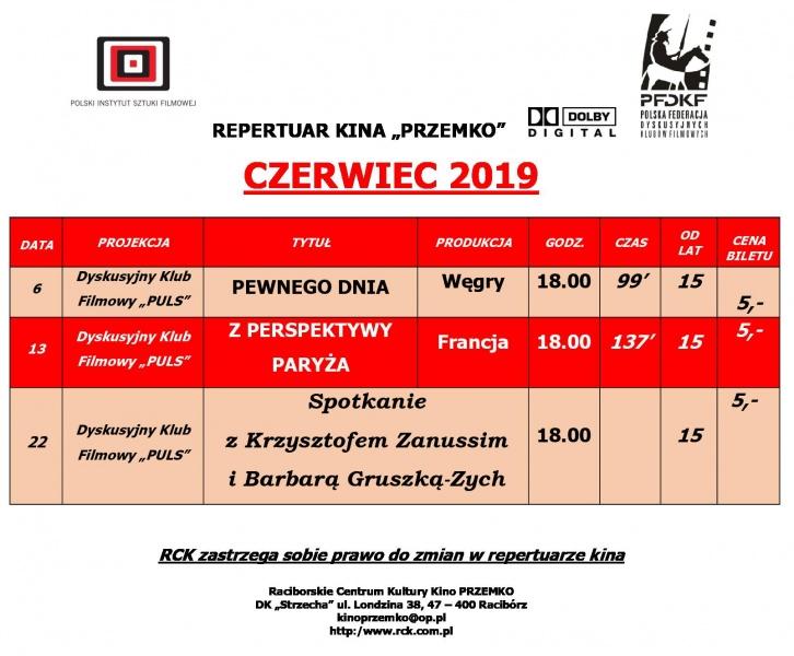 Kino Przemko Czerwiec