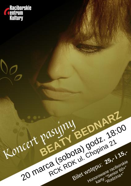 Beata Bednarz - kon.pasyjny