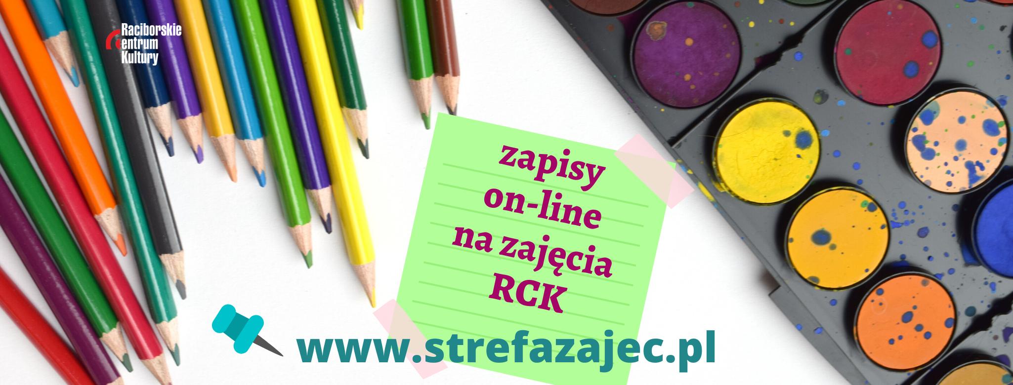 zapisy na zajęcia RCK 2020/2021